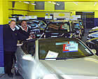 Clive and Graham with a combined experience of 30 years in the motor trade
